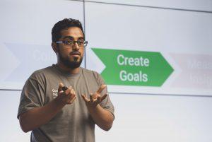 Akhra Amin Presenting Create goals